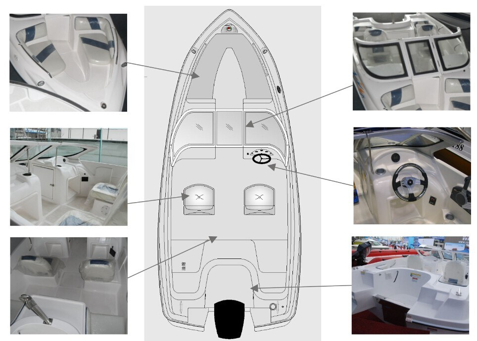 1700 High Speed Boat