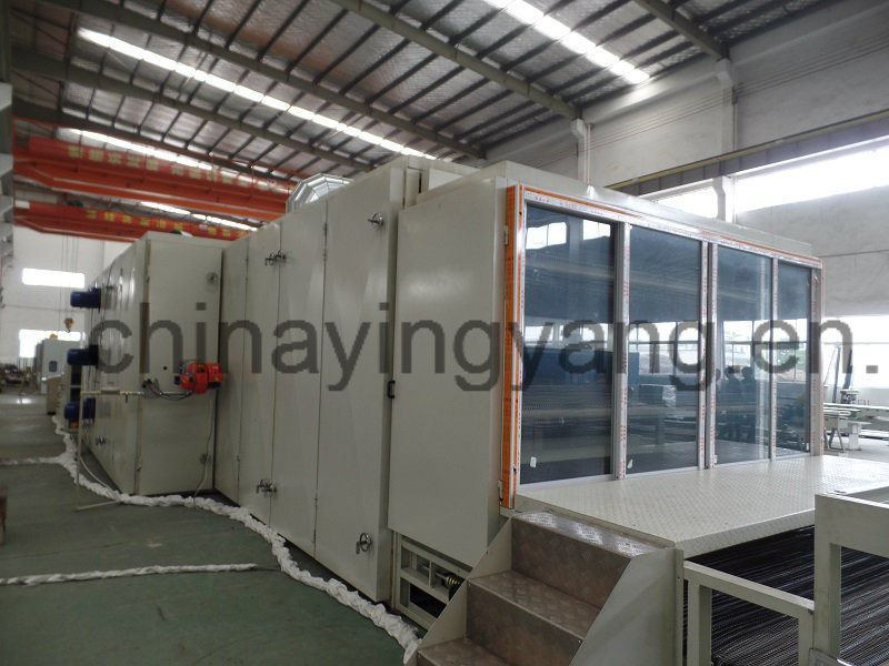 3-Layer Chemical Bonding Wadding Oven Machine