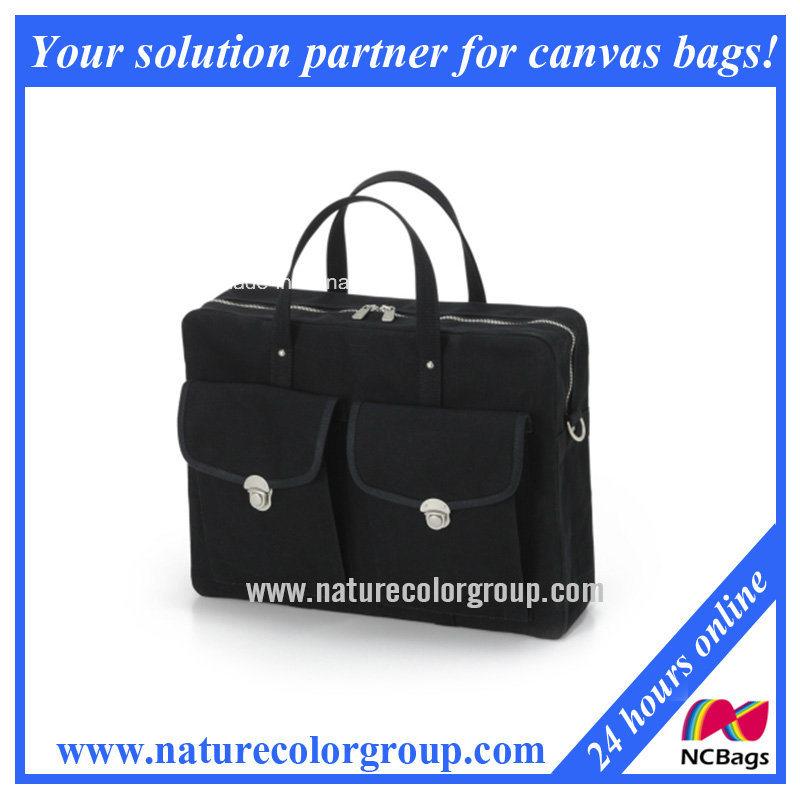 Fashion Canvas Computer Bag Laptop Bag (CPB-008#)