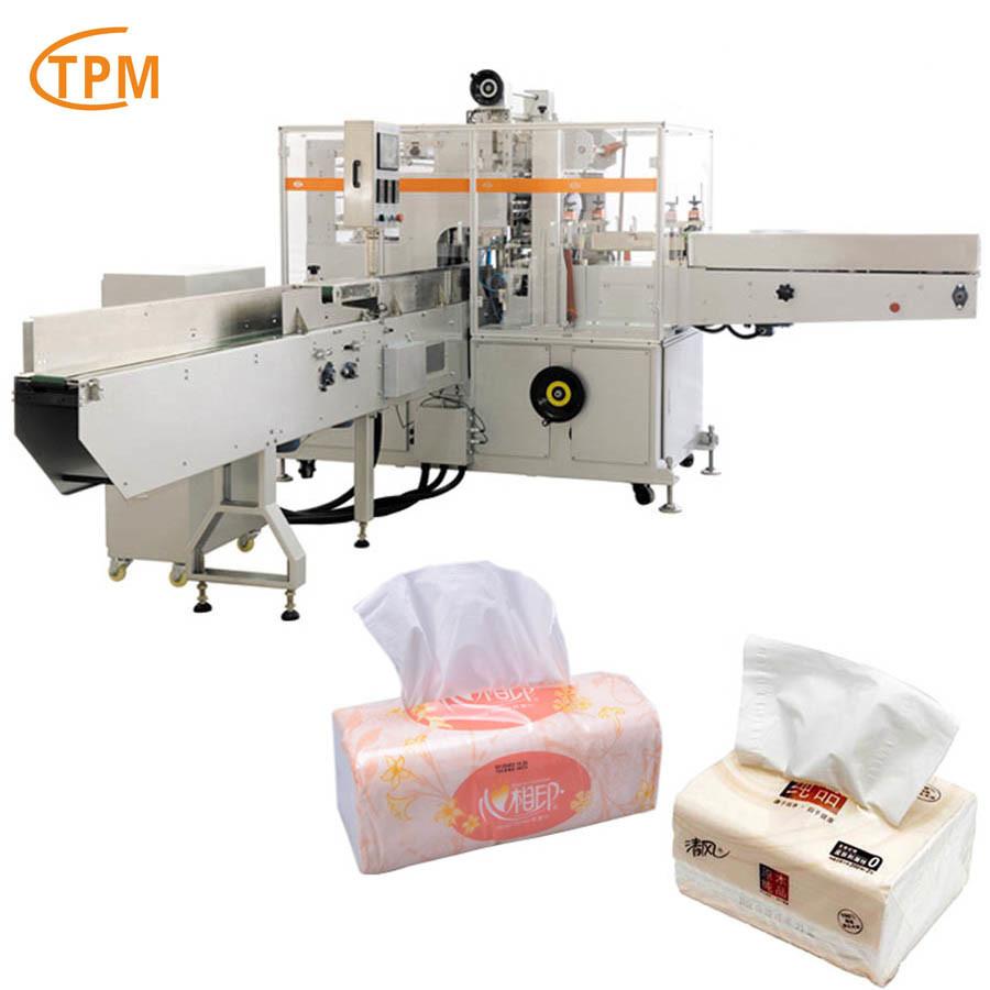 Tissue Wrapping Machine Napkin Packing Equipment