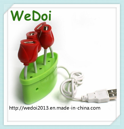 Promotional Gift Rose USB Hub for Your Love (WY-H33)