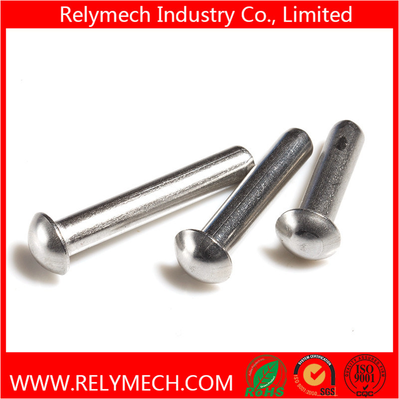 Mushroom Head Round Head Solid Rivet in Stainless Steel