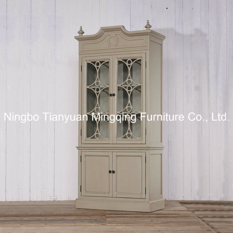Stereoscopic Delicate Cabinet Antique Reproduction Furniture