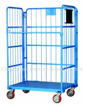 Roll Container, Storage Container, Wheel Container