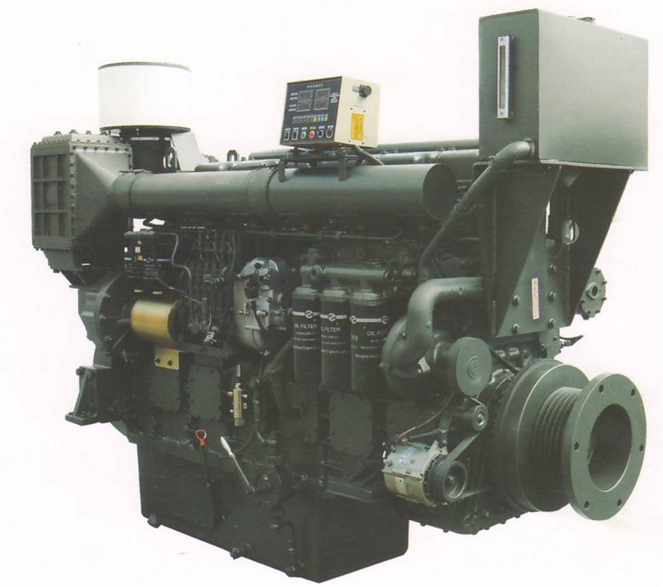 220~726 Kw W Series Marine Diesel Engine