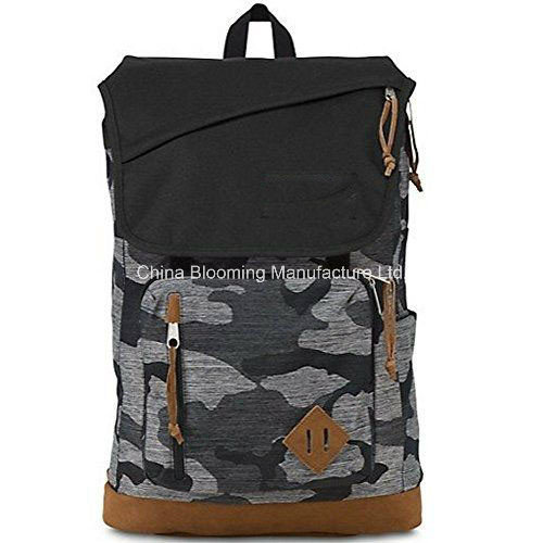 Unisex Camo School Book Bag Travel Sports Backpack