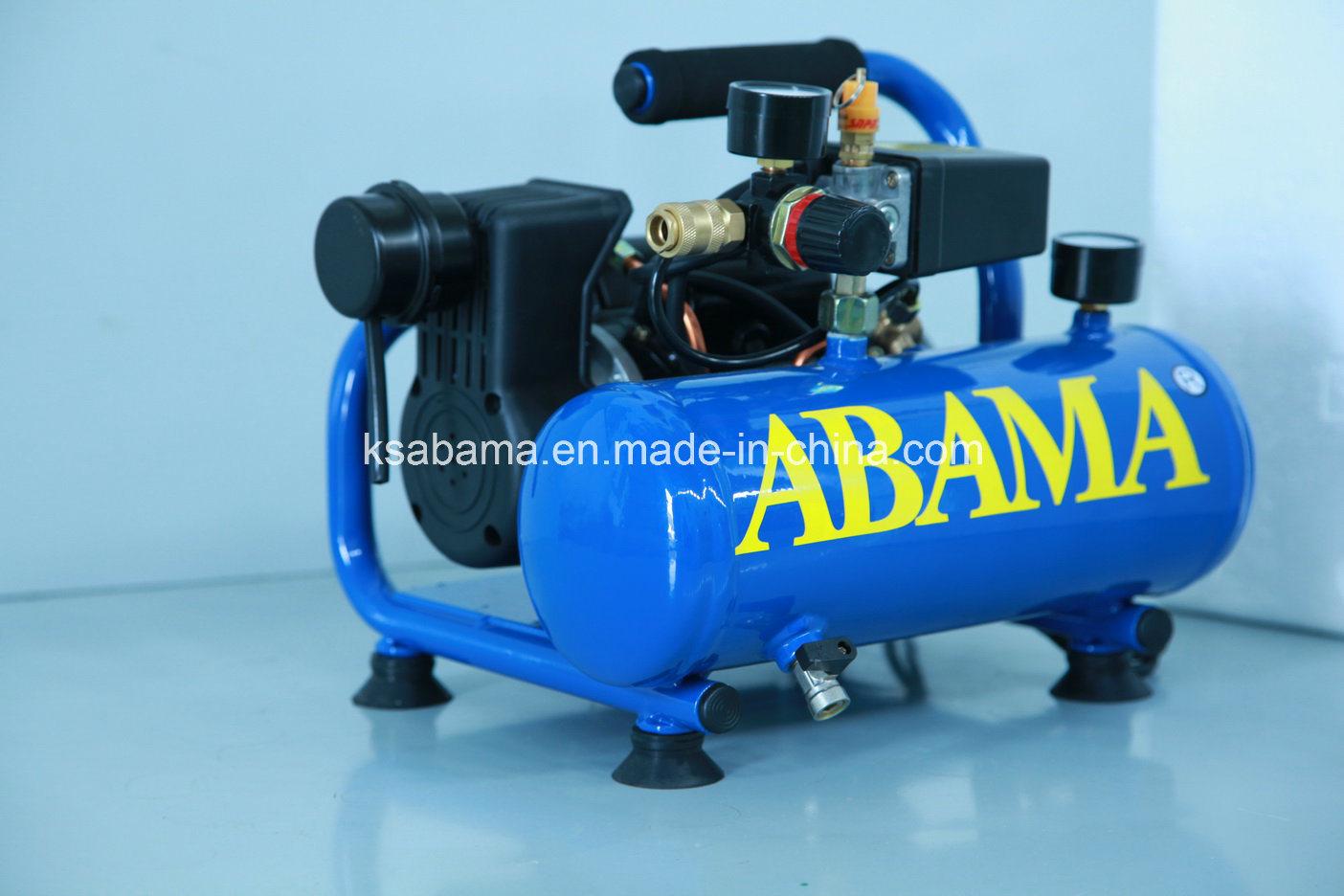 Ta-0304 0.75HP with 4L Tank Frame Oil Free Air Compressor