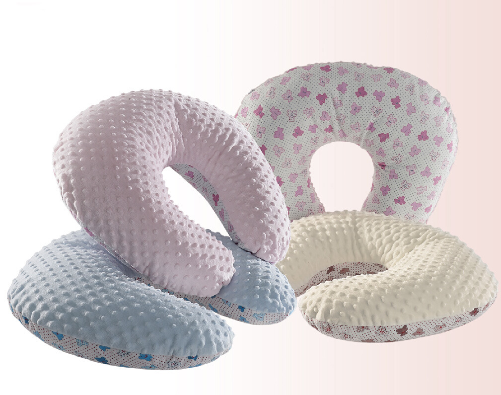 100% Polyester Printed Micro Mink Nuring Pillow