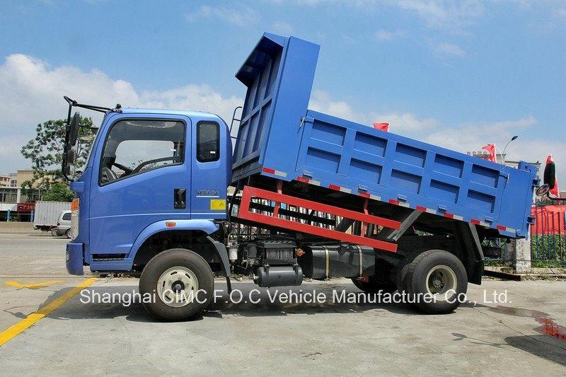 Sinotruk Homan 4*2 Multi-Function Transport Type Light Duty Dump Truck
