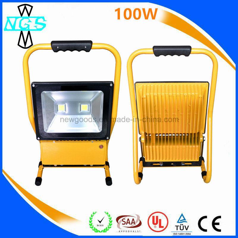 LED Work Light Waterproof 80W 100W Rechargeable LED Flood Light