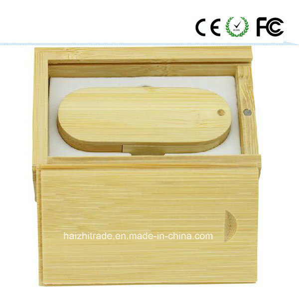 Swivel Wooden Fashion Gift USB Flash Drive (USB2.0&USB3.0)