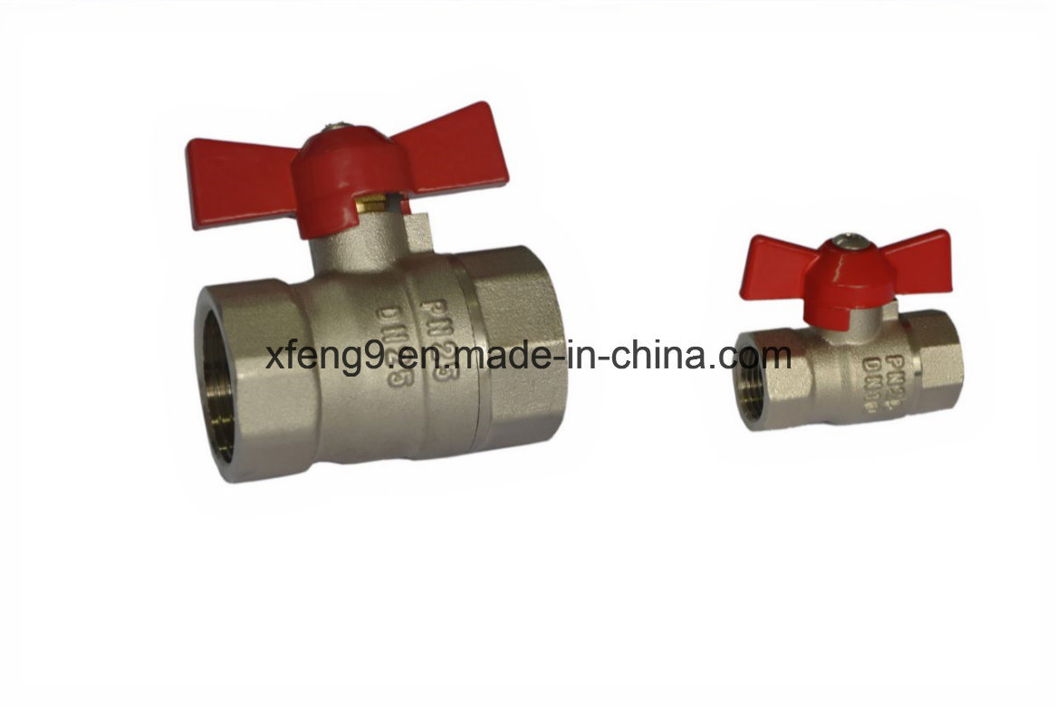 High Quality Brass Ball Valve with Aluminum Handle