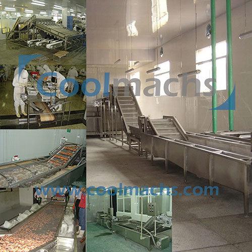 Shrimp IQF Frozen Processing Line