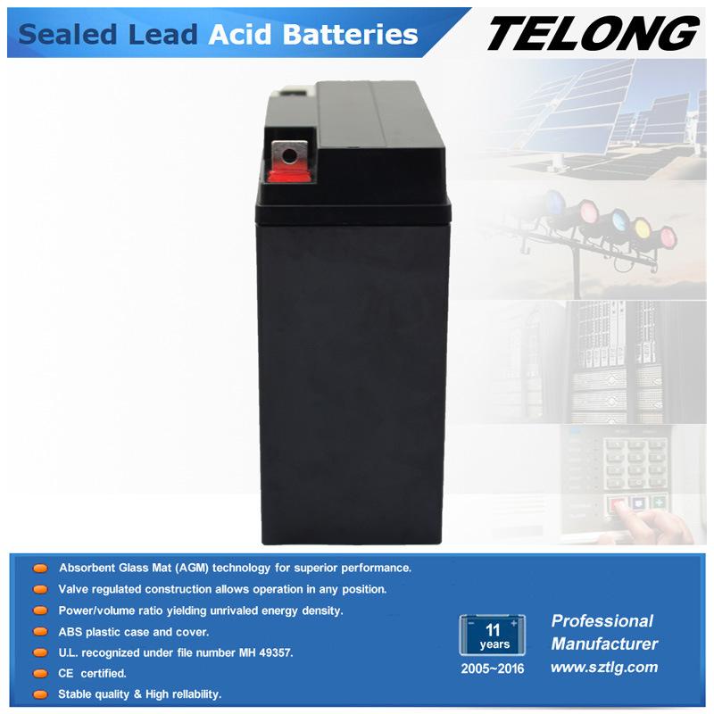 Deep Cycle Electric Car Battery UPS Battery (12V20AH)