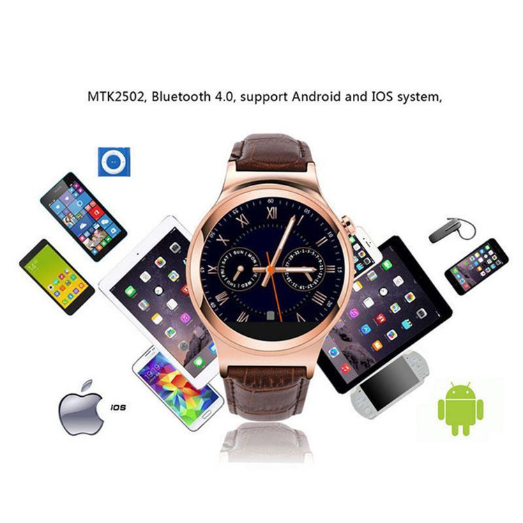 Gelbert S3 GSM Smart Watch Mobile Phone for Fashion Man