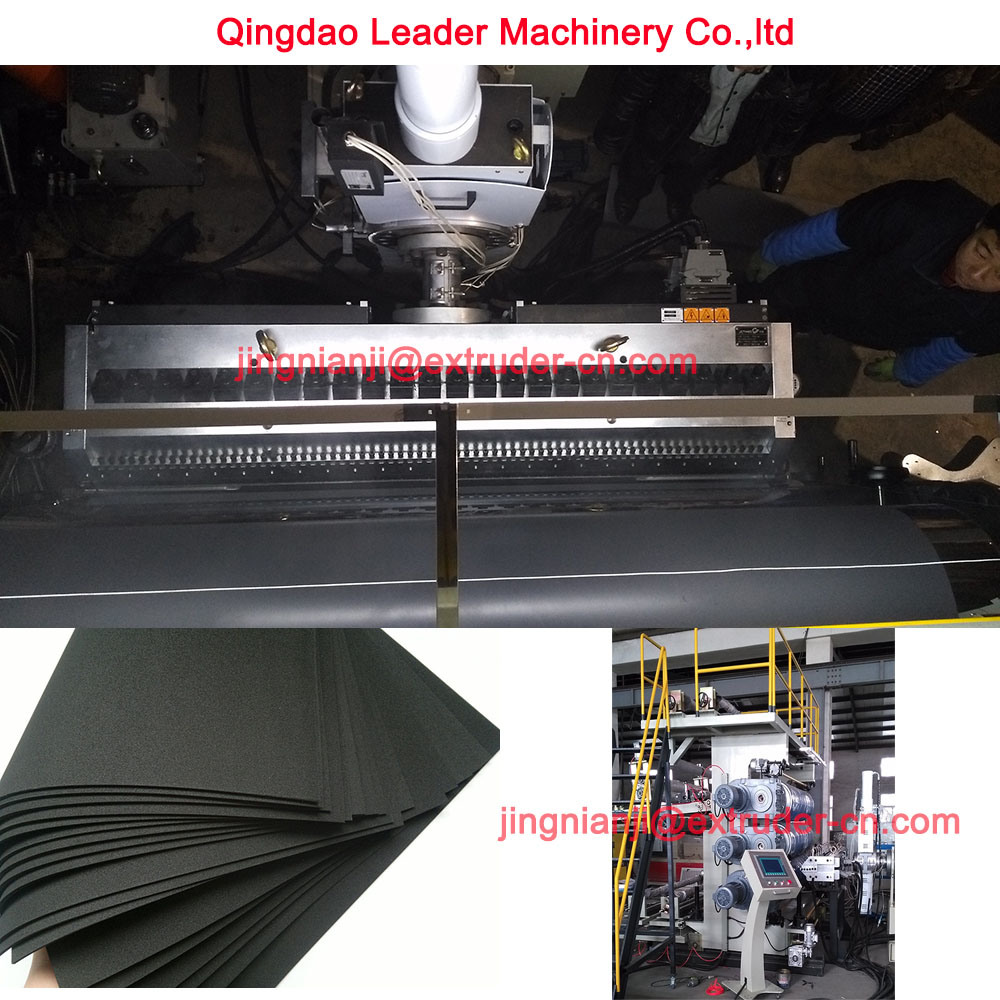 EVA Automotive Interior Decoration Sheet Making Machine