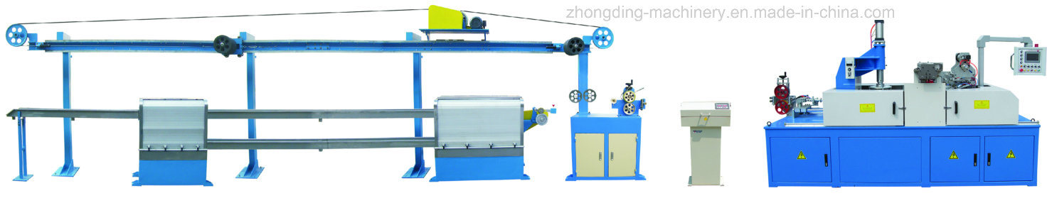 Zd-50 UL Electronic Wire, Special Cable and Automotive Wire Extruder Machine