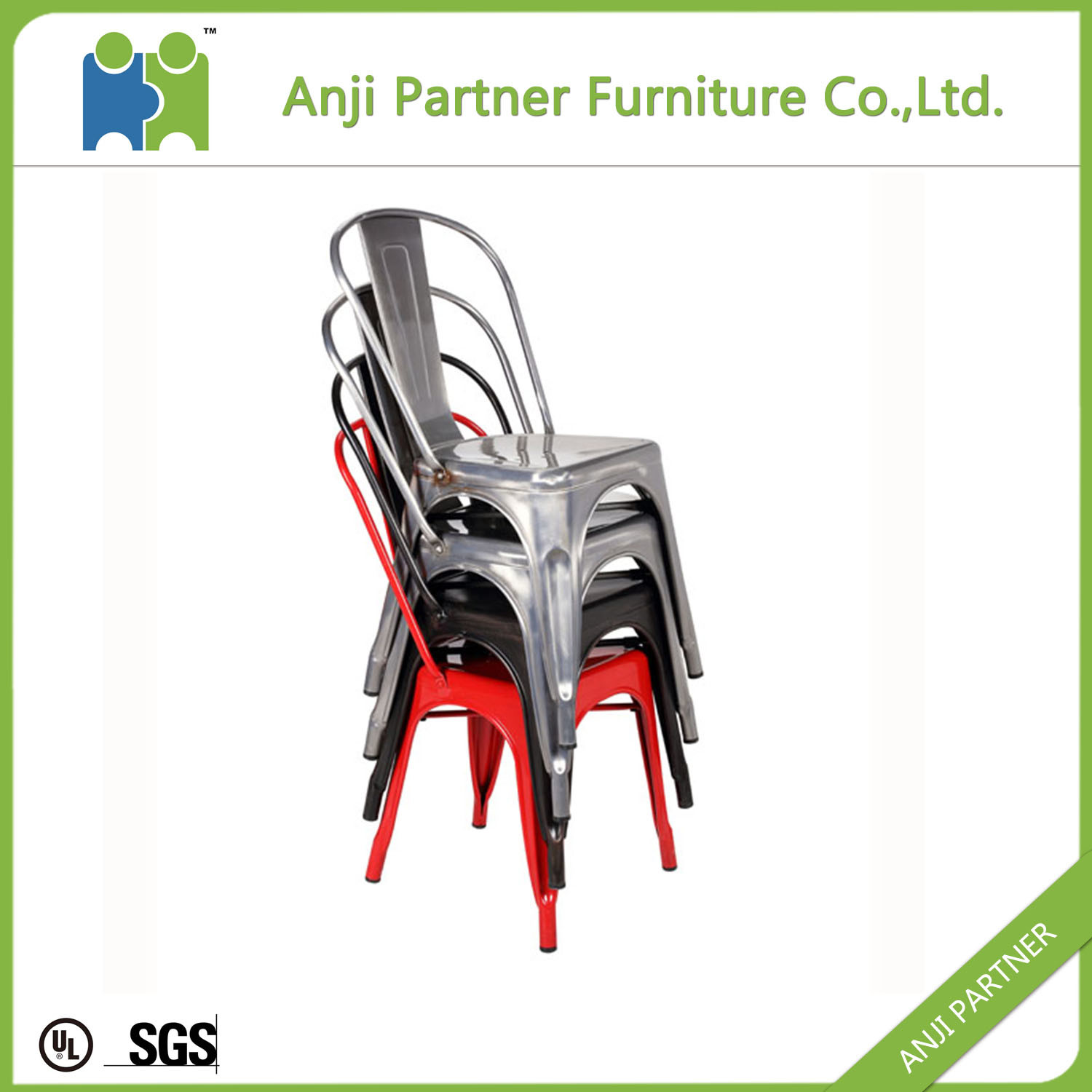 China Wholesale Modern Furniture Vintage Industrial Metal Chair (Hagupit)