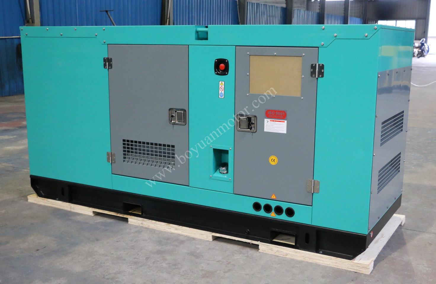 Power Generator with Cummins Engine 50kw