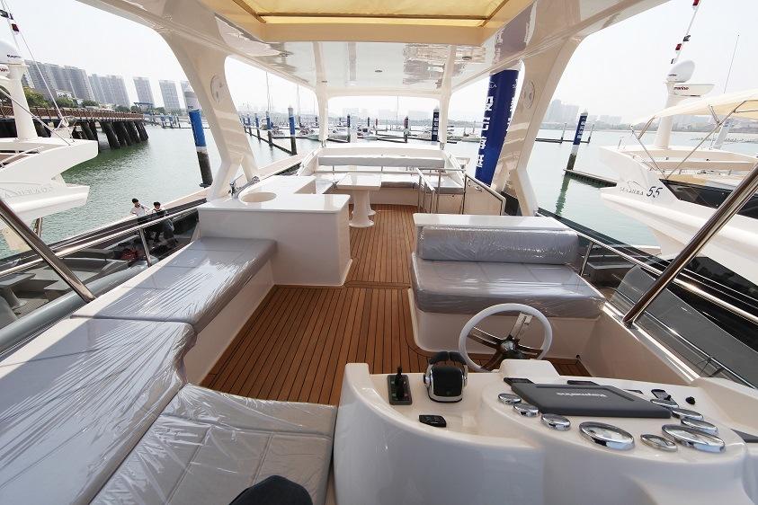 Seastella 63FT Luxury Yacht with Flybridge
