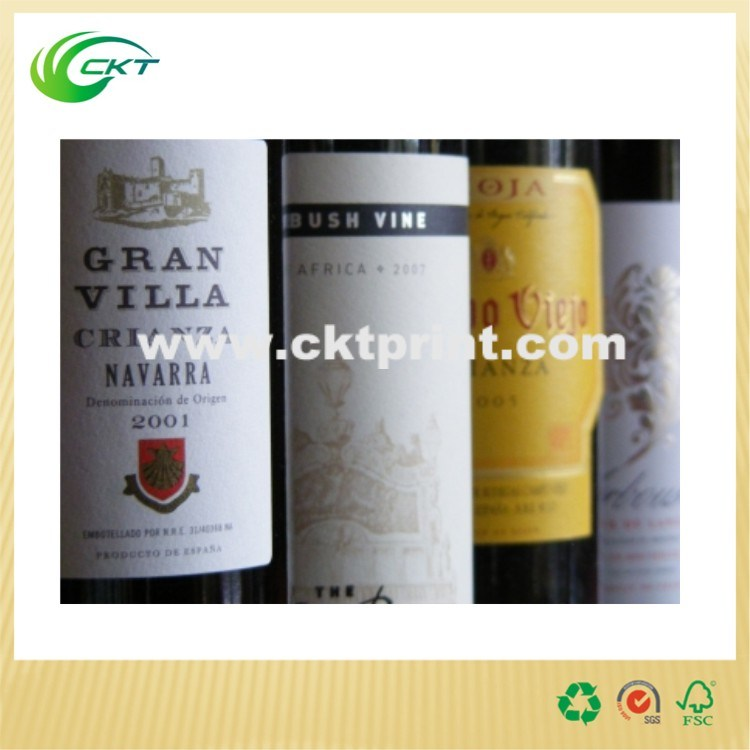 Paper Wine Label in Self Adhesive (CKT-LA-367)