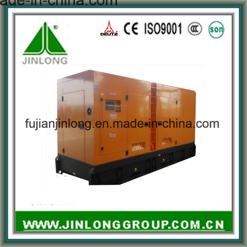 138kVA/110kw Soundproof Electric Power Diesel Generator