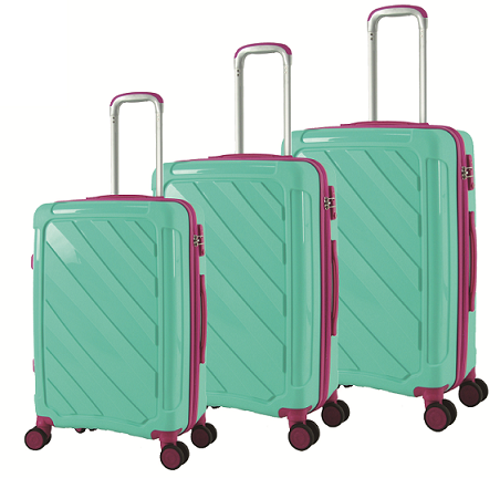 PP Zipper Style Trolley Case in Size 20/24/28