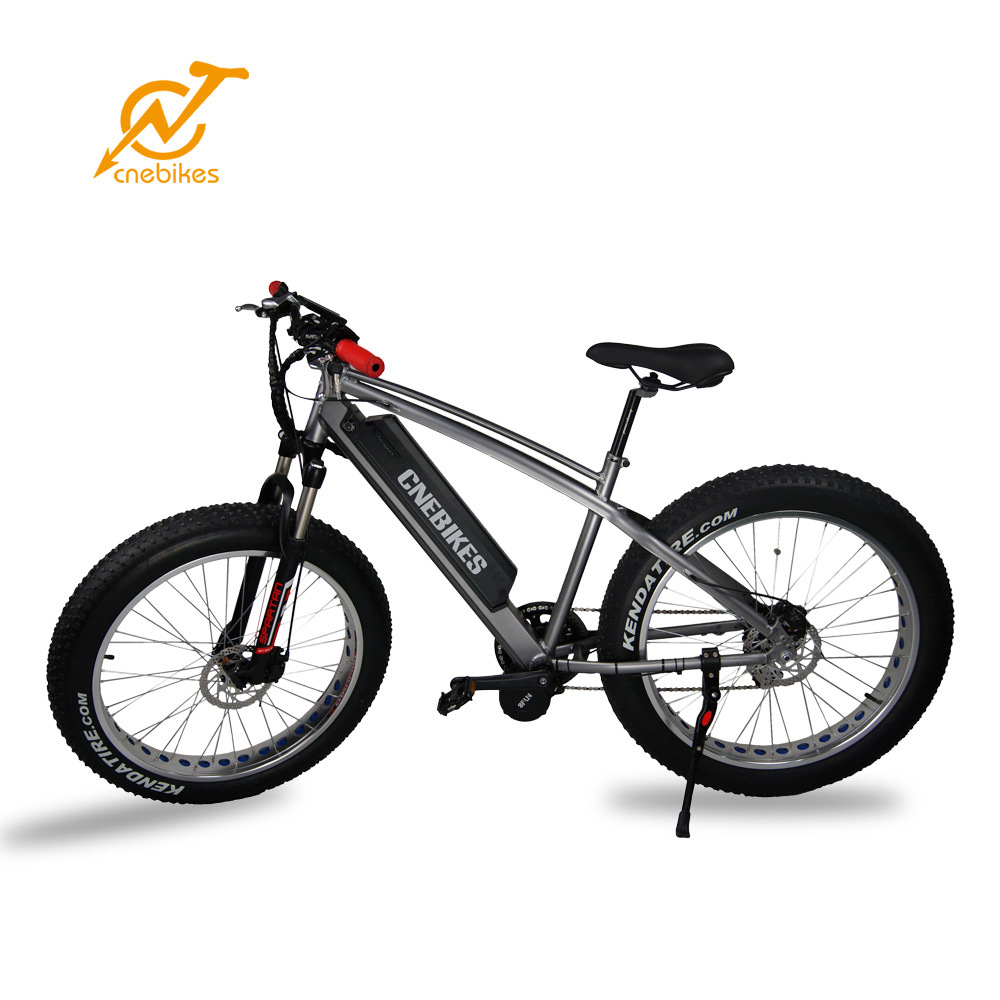 2017 Full Suspension MID Drive Bafang Motor 750W Fat Tire Mountain Electric Bike
