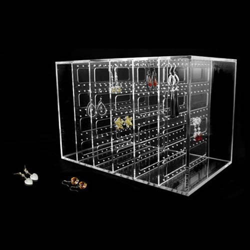 Retail Acrylic Jewelry Display Stand, Pop Jewelry Display Rack