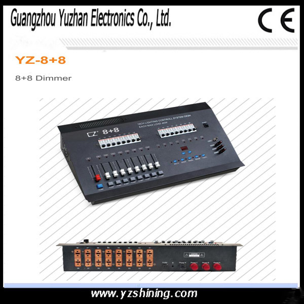 Stage Lighting DMX Digital 8+8 Dimmer