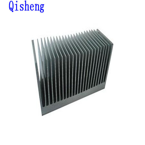 Heat Sink, CNC Machining, Al 6063