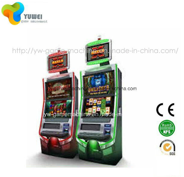 Coin Operated Gambling Arcade Amusement Equipment Casino Slot Machine for Sale Yw