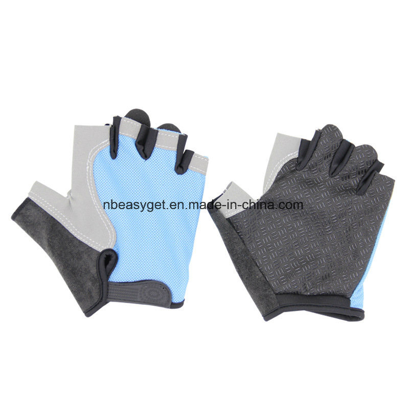 Women′s Light Non-Slip Half Finger Gel Pad Cycling Gloves Breathable Mountain Biking Riding Gym Sport Gloves
