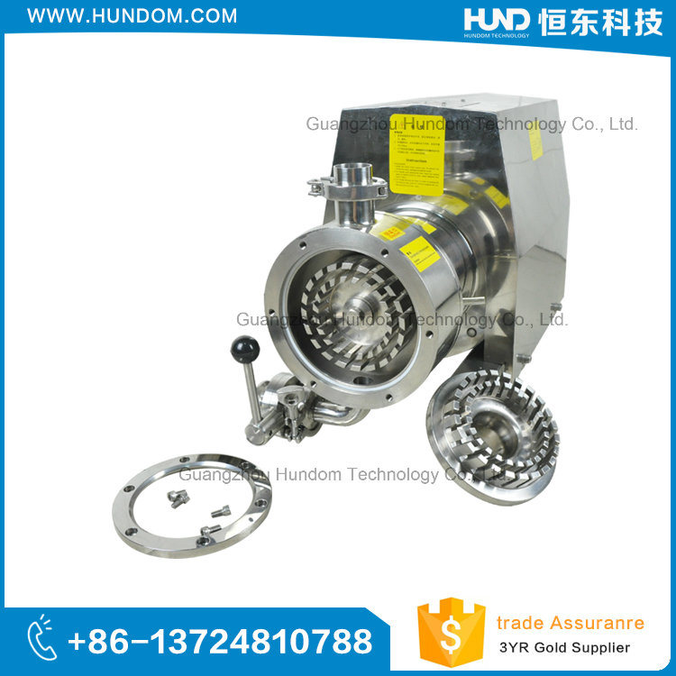 Stainless Steel High Shear Emulsion Pump with Hopper
