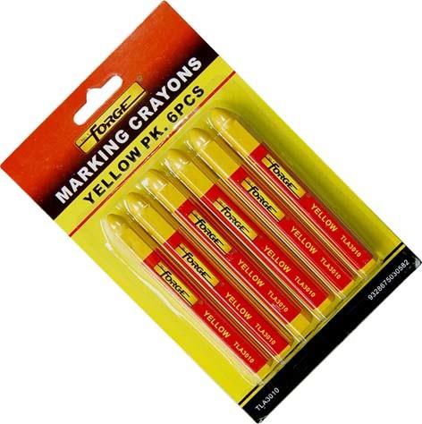 6PCS Non-Toxic Waterproof Marking Crayon Marking Pen Marker Blue