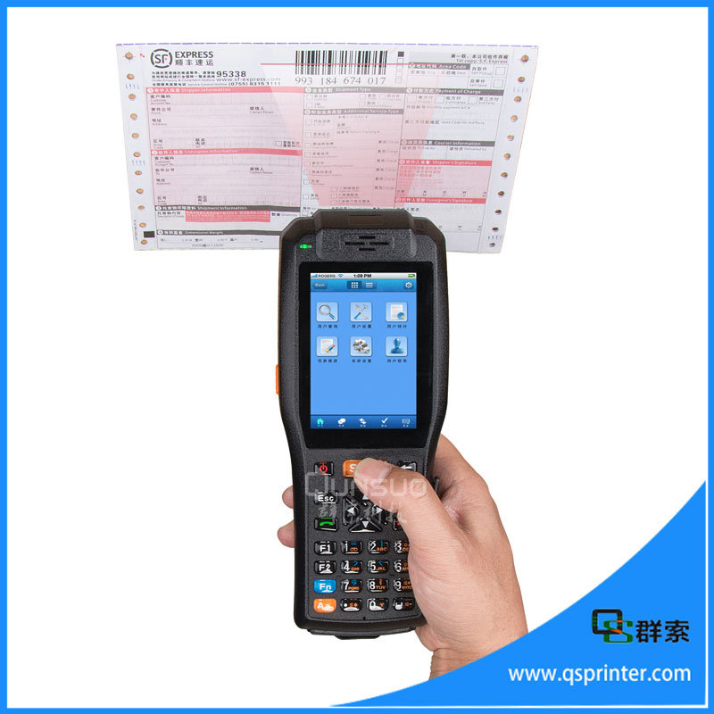 3.5 Inch Touch Screen PDA Barcode Scanner Android Terminal