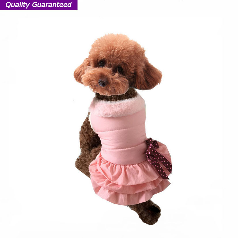Wholesale Warm Dog Winter Clothes of Pet Dress