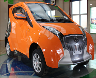 Hot Selling Low Speed Electric Car with EEC Certificate