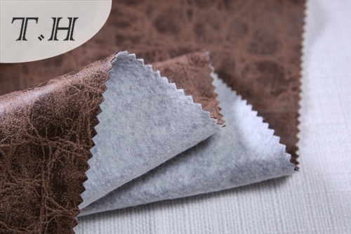 Embossed Suede Fabric Hot Stamping Design in China
