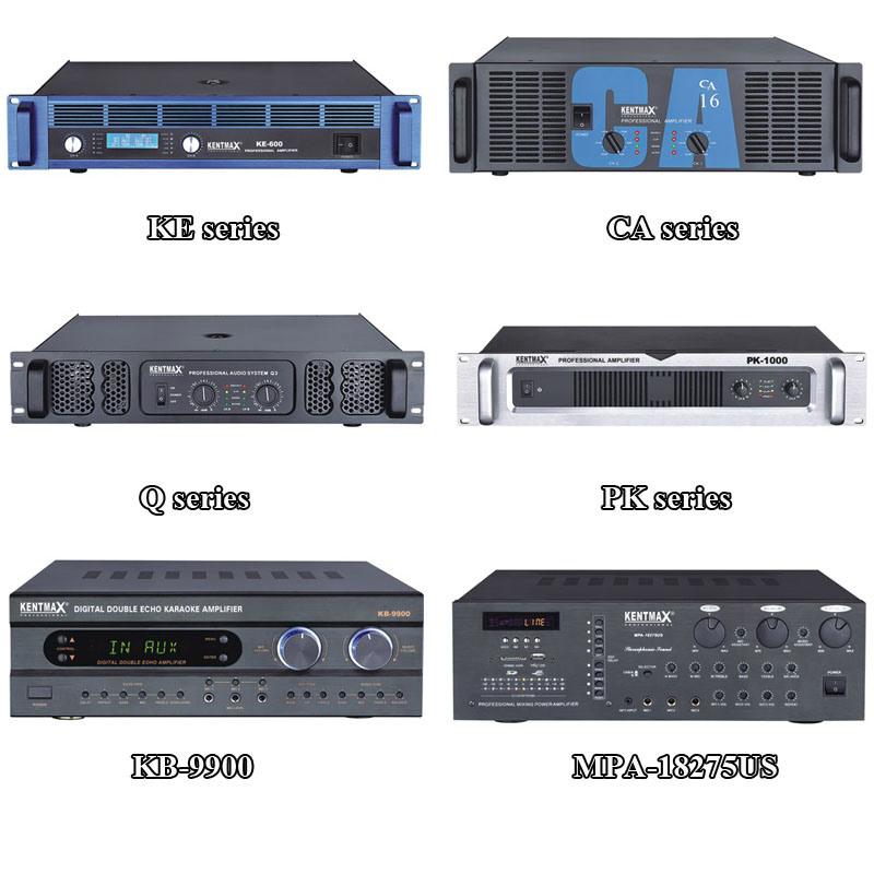 2 Channels 180W 83dB Low Noise Amplifier for KTV (MPa-18275US)