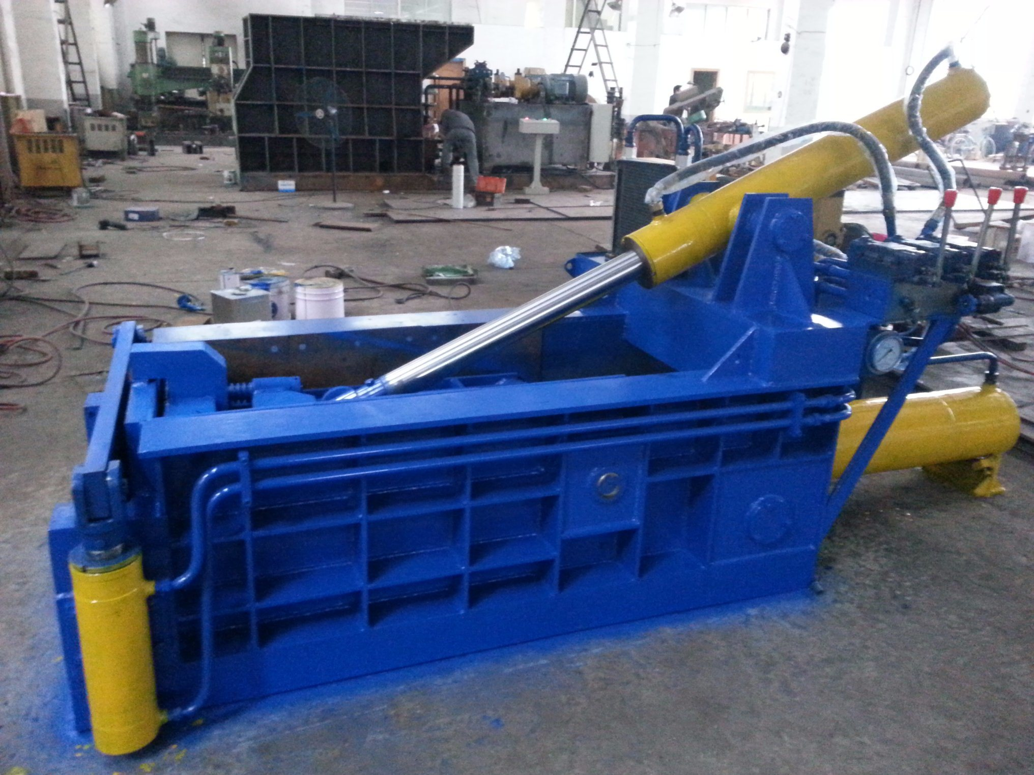 2017 Newest Horizontal Hydraulic Scrap Metal Baler/Compactor/Baling Machine