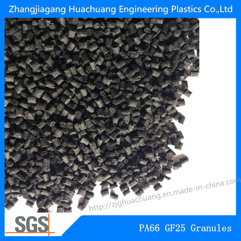 Polyamide PA66 Glass Fiber 25% Pellets for Engineering Plastics