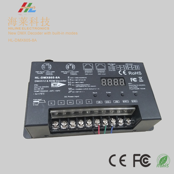 DMX512 Decoder 30kHz with Master Function