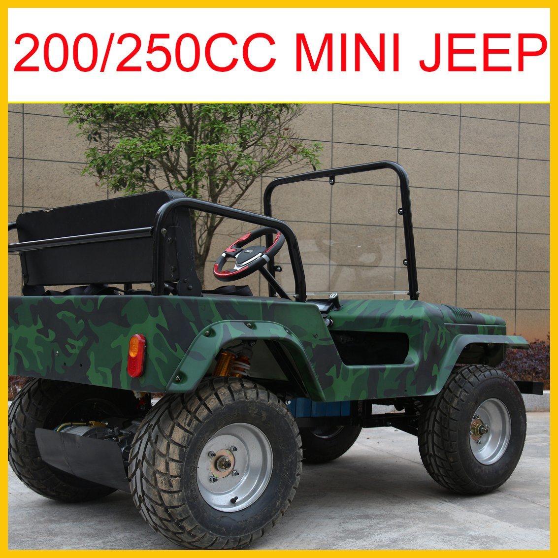 2017 Newest 150cc/200cc/250cc 4 Stroke CVT Reverse ATV (Jeep 2017)
