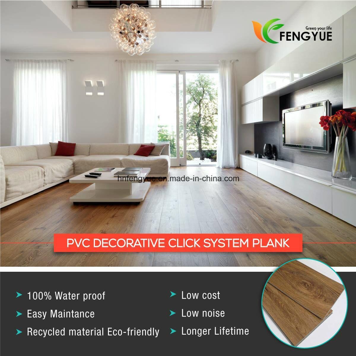Carpet Effect Serie Covering Lvt Lock System Vinyl Flooring