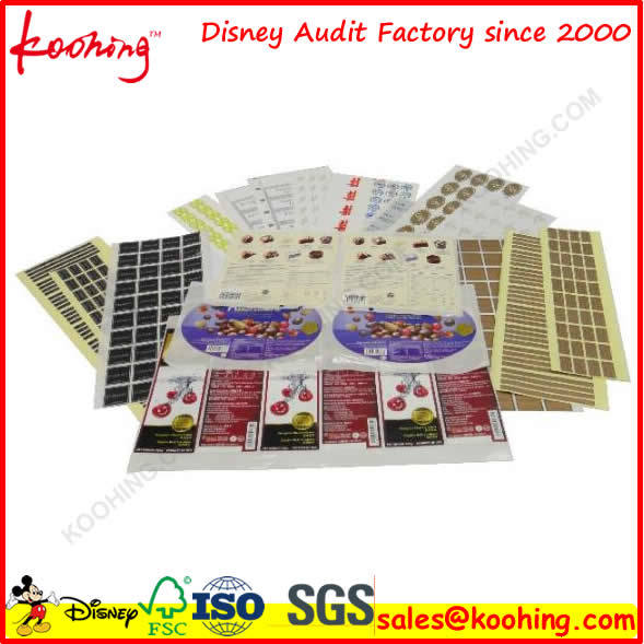 Koohing Disney′ Fama Audits Factory for Custom Printing and Packaging