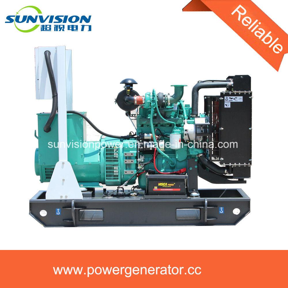 150kVA Fixed Type Generator Set with Huge Fuel Tank