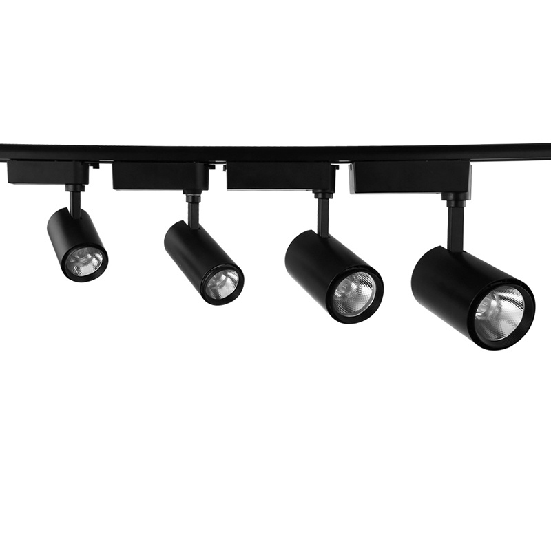 24W Dimmable CCT Changeable LED Track Light Track Spot Light with Remote Control for Shops, Museum, Art Gallery