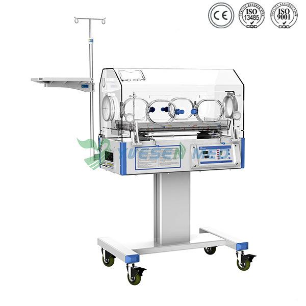 Ysbb-100s Hospital Top Sale LED Display Mobile Baby Incubator Incubator