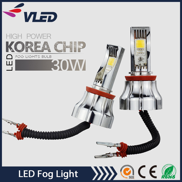 Car and Truck Accessories 9005 9006 LED Fog Light 6000k Auto Motorcycle